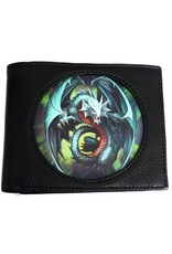 Anne Stokes 3D Wallets and Purses - 3D Wallet with dragon Jade - Anne Stokes Age of Dragons