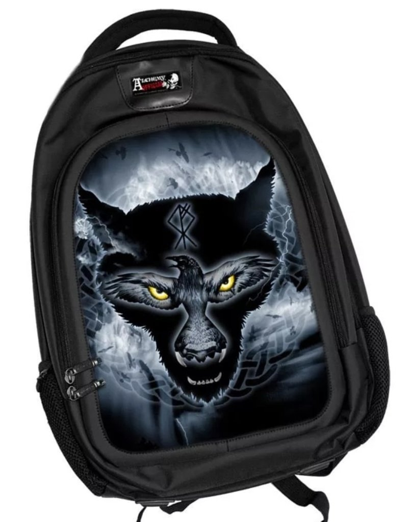 Alchemy 3D Bags and Backpacks - 3D lenticular Gothic backpack Ravenwulf,  Alchemy