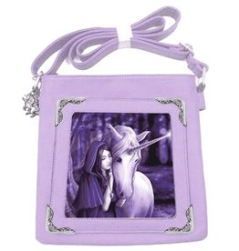 Anne Stokes Anne Stokes lenticular shoulderbag Solace Unicorn