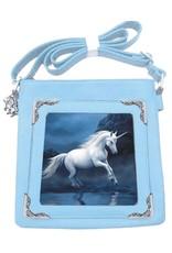 Anne Stokes Fantasy tassen -  Anne Stokes 3D schoudertas Moonlight Unicorn
