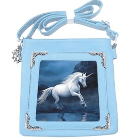 Anne Stokes Anne Stokes lenticular shoulder bag Moonlight Unicorn