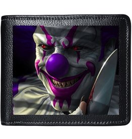 Tom Wood Tom Wood Fantasy Art 3D lenticular wallet Mischief Clown