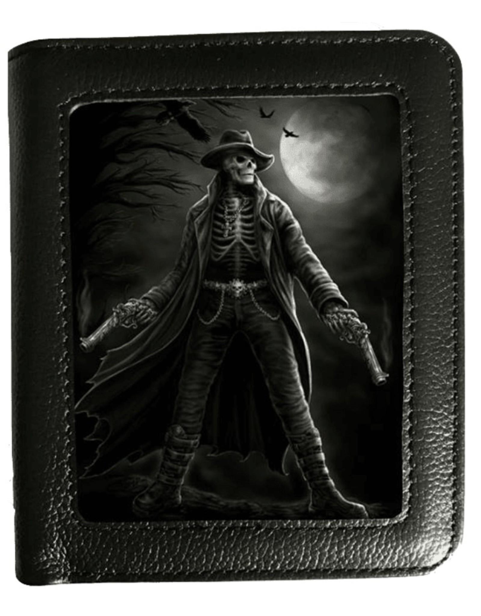 SheBlackDragon 3D portemonnees - SheBlackDragon 3D portemonnee Gunslinger