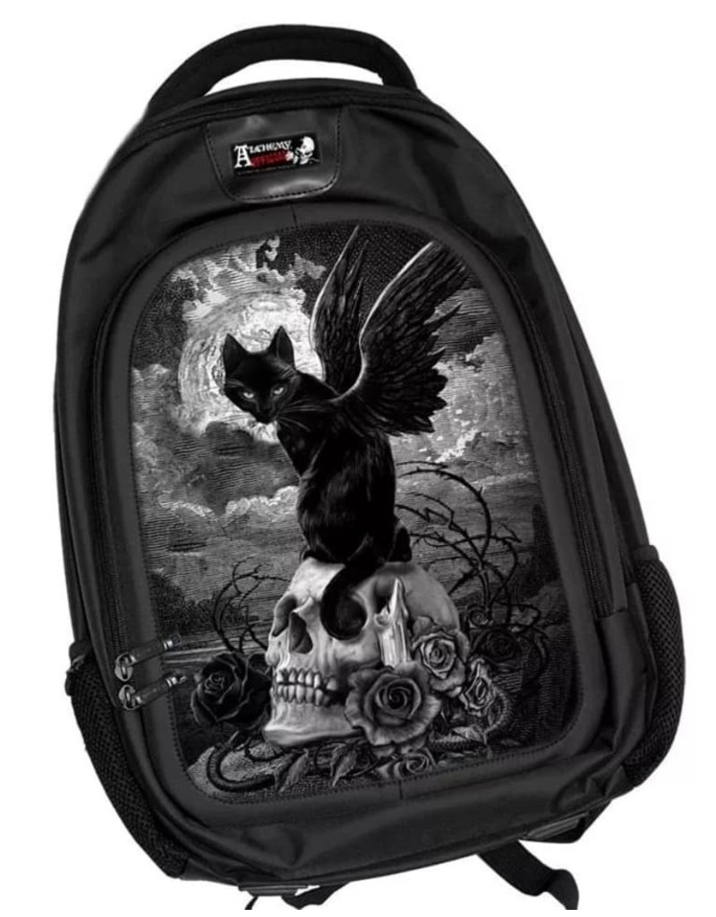 Alchemy 3D Bags and Backpacks - 3D lenticular backpack Nine Lives of Poe - Alchemy