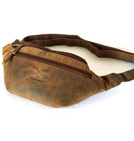 "Hunters Hunters Leather Waist bag Öriginal"" Brown Tanned Leather"