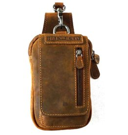 HillBurry Hillburry Leather Belt Bag Brown (Buffalo leather)