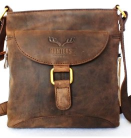 Hunters Hunters leather shoulder bag brown 616033