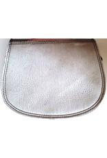 Trukado Leather Shoulder bags - Leather shoulder bag platinum
