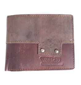 Wild Club Only Leather wallet Mosaic (horizontal)