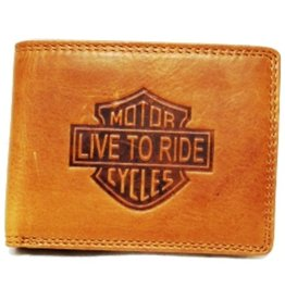 HillBurry Leather Wallet Cognac HillBurry MC01