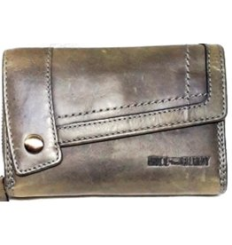 HillBurry Leather Wallet Grey HillBurry 3698gr