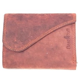 BestBull Leather wallet with golf cover Bordeaux