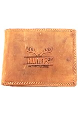 Hunters Leather Wallets -  Leather wallet Hunters light brown (cognac)