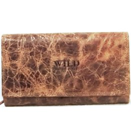 Wild Thing Leather wallet Wild Thing Large (dark brown)
