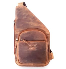 Hunters Leather crossbody holster Hunters - tanned leather