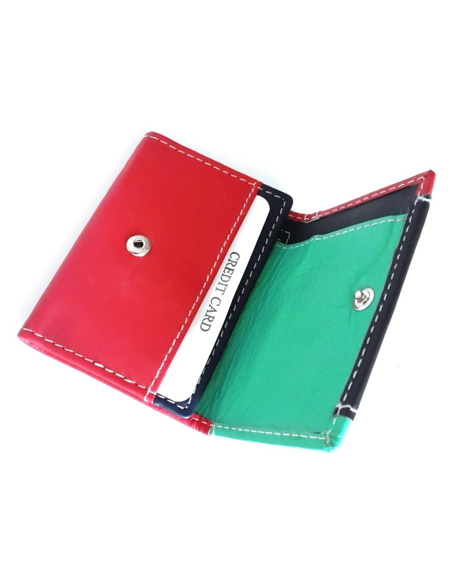 Hutmann Leather Wallets -  Leather mini wallet in colored leather