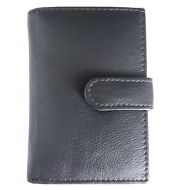 Wild Club Only Leather Card holder in one black