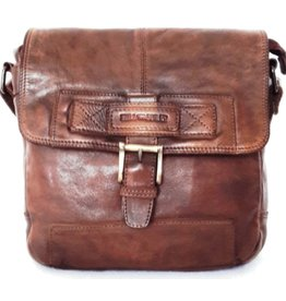 HillBurry Hillburry leather shoulder bag brown