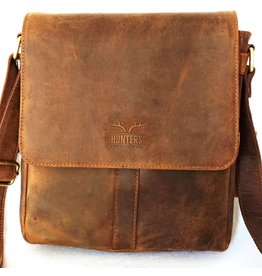 Hunters Hunters leather shoulder bag brown 1001