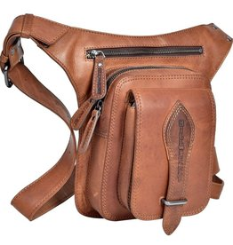 HillBurry HillBurry Crossbody tas cognac