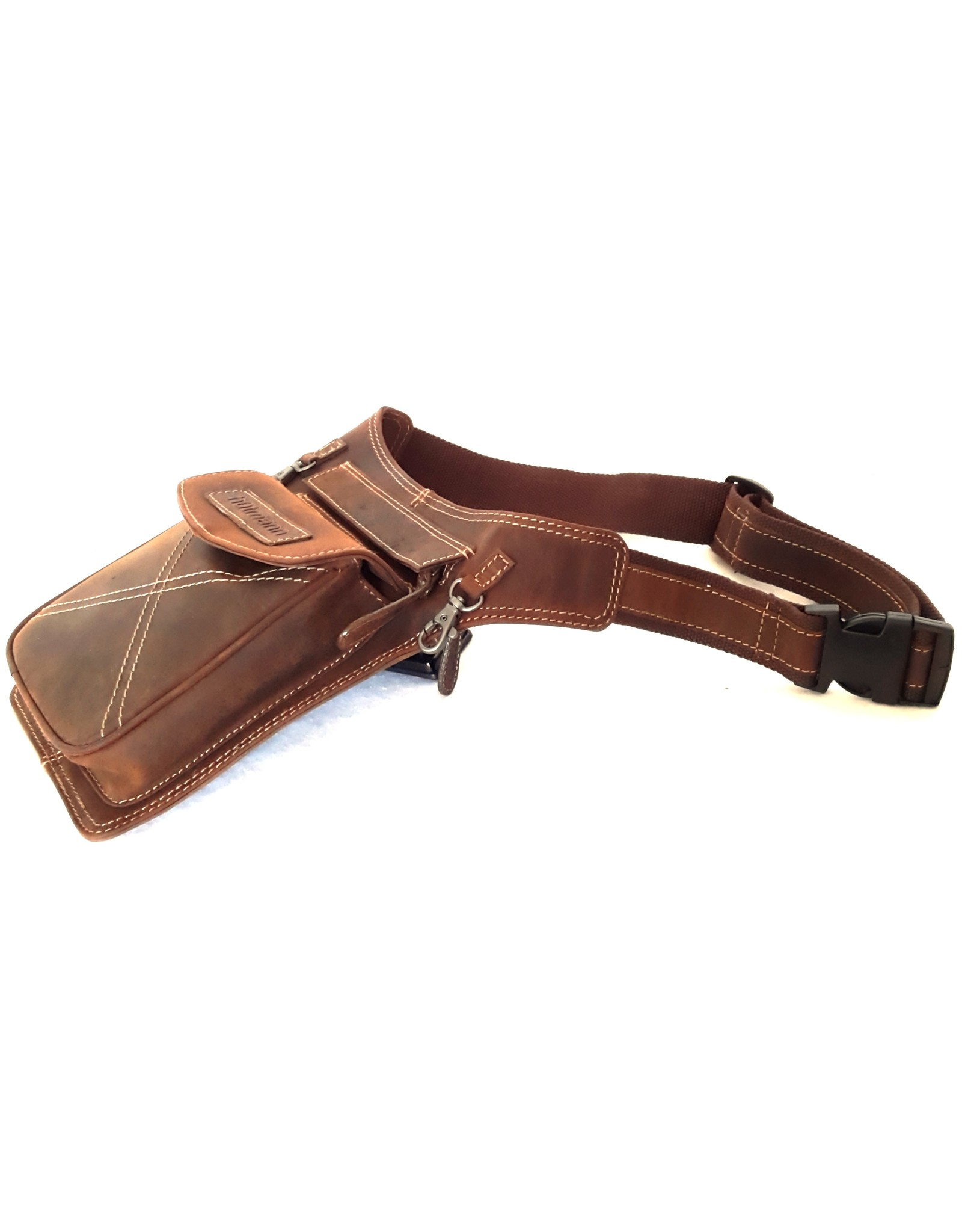 Hutmann Leather Festival bags, waist bags and belt bags - Hütmann hip bag tanned leather brown