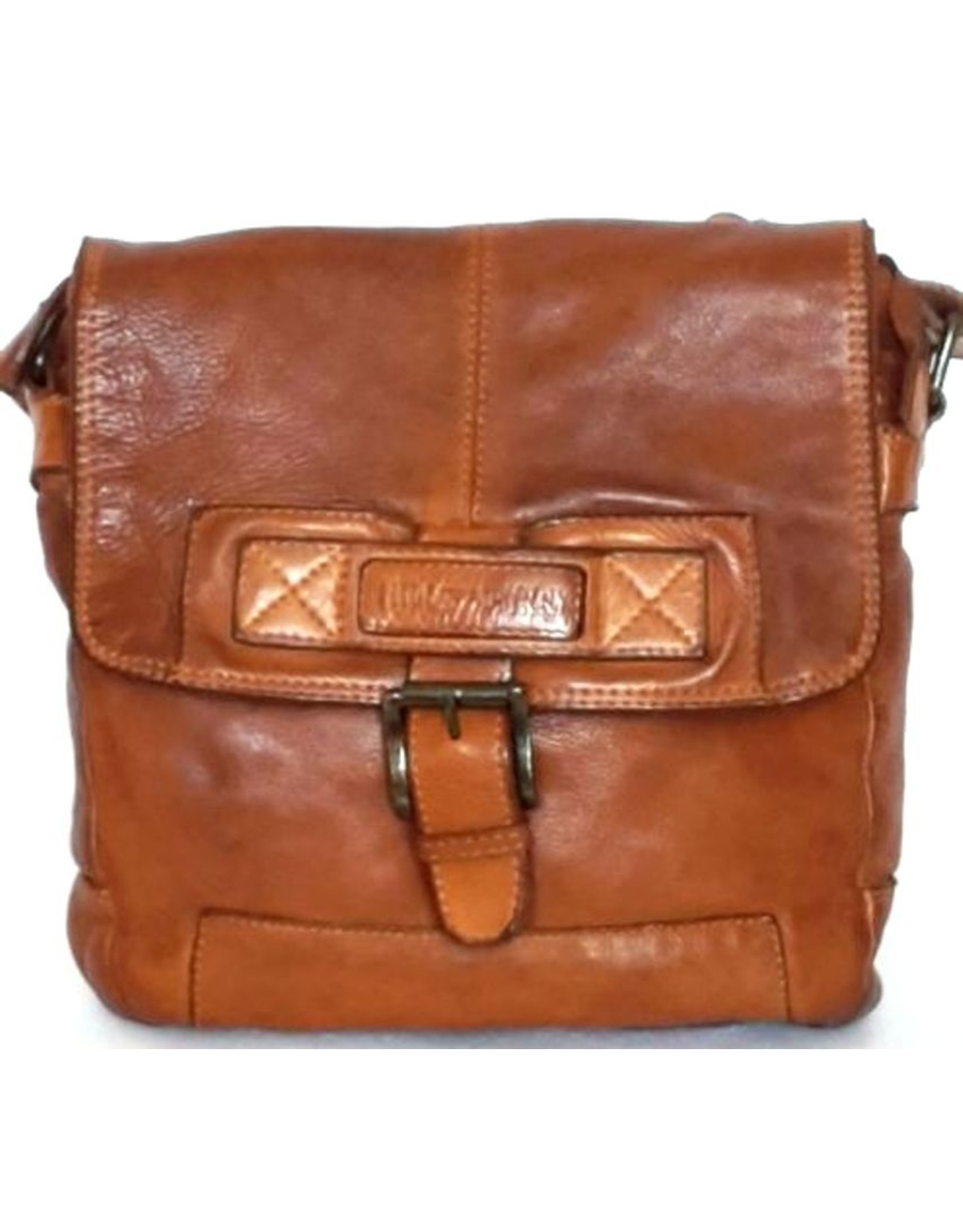 HillBurry Leather Shoulder bags Leather crossbody bags - HillBurry crossbody bag (washed leather)