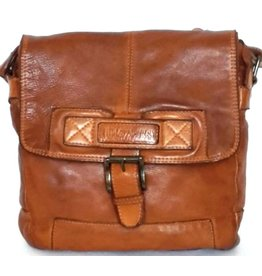 HillBurry HillBurry crossbody tas (gewassen leer)