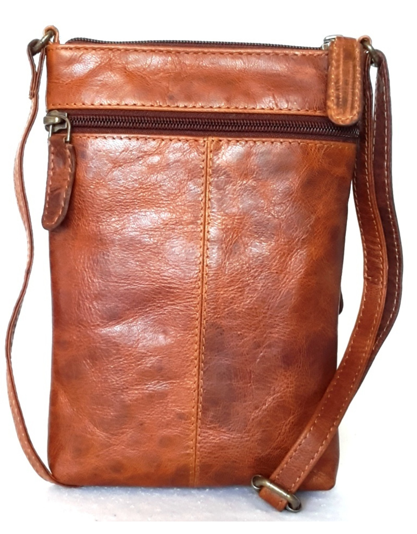 Napa Valley leren Schoudertassen Leren Crossbody tassen - Schoudertas Napa Valley (Waterbuffelleer)