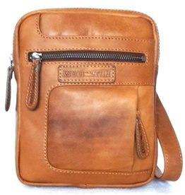 HillBurry Hillburry leather shoulder bag tan 1874