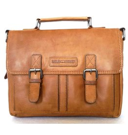 HillBurry Hillburry Leather school bag oiled leather (medium)