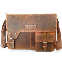 HillBurry HillBurry laptop bag - workbag (buffalo leather)