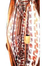 HillBurry Leren werktassen Leren laptoptassen - Hillburry Leren schooltas vintage look Mango tan (large)
