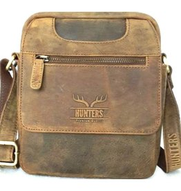 Hunters Hunter crossbody bag with rounded corners (olive)