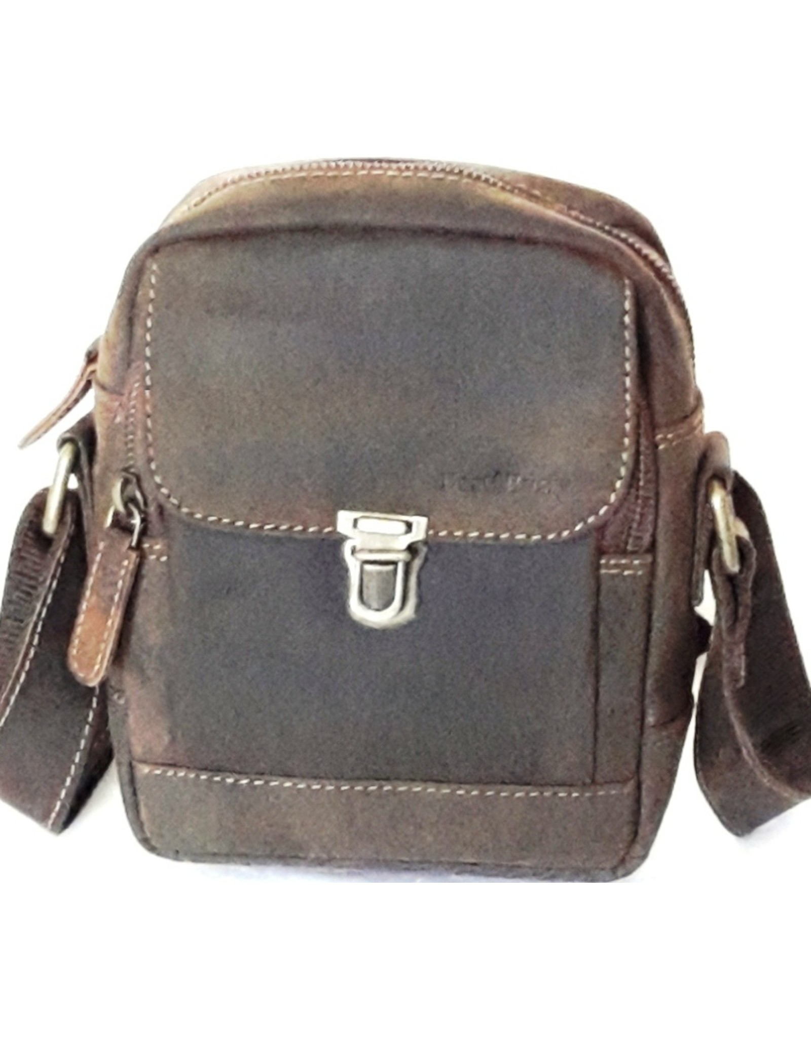 Napa Valley Leather shoulder bags Leather crossbody bags - Leather crossbody small bag with  sliding clasp Best Burry