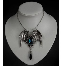Restyle Pendant and brooch in one Della Morte cyan - Restyle
