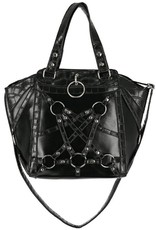 Restyle Gothic bags Steampunk bags - Gothic shopper Crocodile Tears - Restyle
