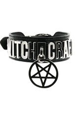 Restyle Gothic accessoires - Choker Witchcraft Collar (vegan) - Restyle