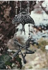 Restyle Gothic sieraden Steampunk sieraden - Ketting met hanger Broom pentagram - Restyle