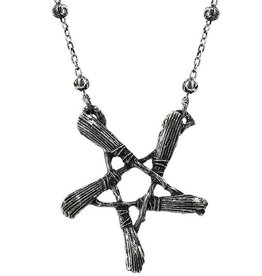 Restyle Necklace with pendant Broom pentagram - Restyle