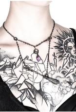 Restyle Gothic sieraden Steampunk sieraden - Ketting Witch Broomstick - Restyle