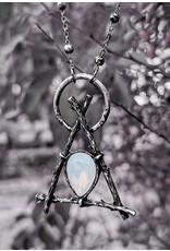 Restyle Gothic sieraden Steampunk sieraden - Ketting Gothic Branch Delta  - Restyle