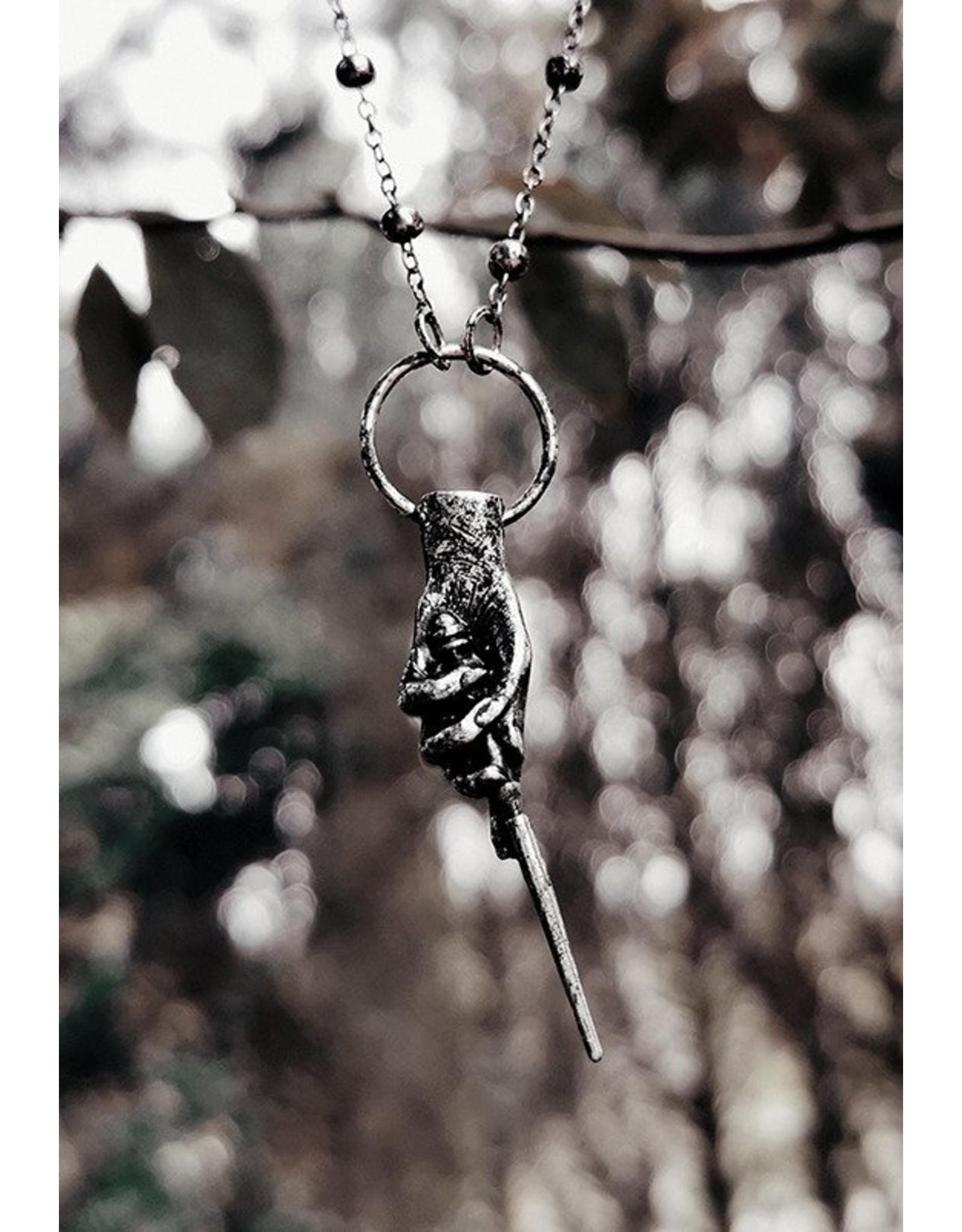 Restyle Gothic sieraden Steampunk sieraden - Fantasy Ketting Magic Wand - Restyle