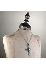 Alchemy Gothic sieraden Steampunk sieraden - Gothic ketting Illuminati Cross - Alchemy