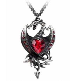 Alchemy Dragon necklace Diamond Heart - Alchemy