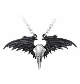 Alchemy Raven skull necklace Ravenger - Alchemy