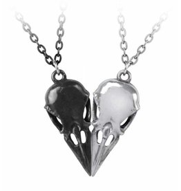 Alchemy Friendship necklace Coeur Crane - Couple's - Alchemy