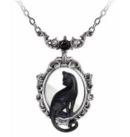 Alchemy Black Cat Necklace Feline Felicity - Alchemy
