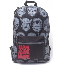 Marvel Marvel Characters All Over printed backpack
