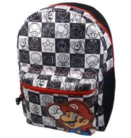 Nintendo Nintendo Super Mario backpack black/white