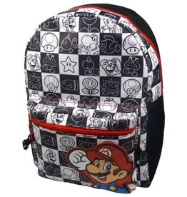 Nintendo Nintendo Super Mario rugzak zwart/wit